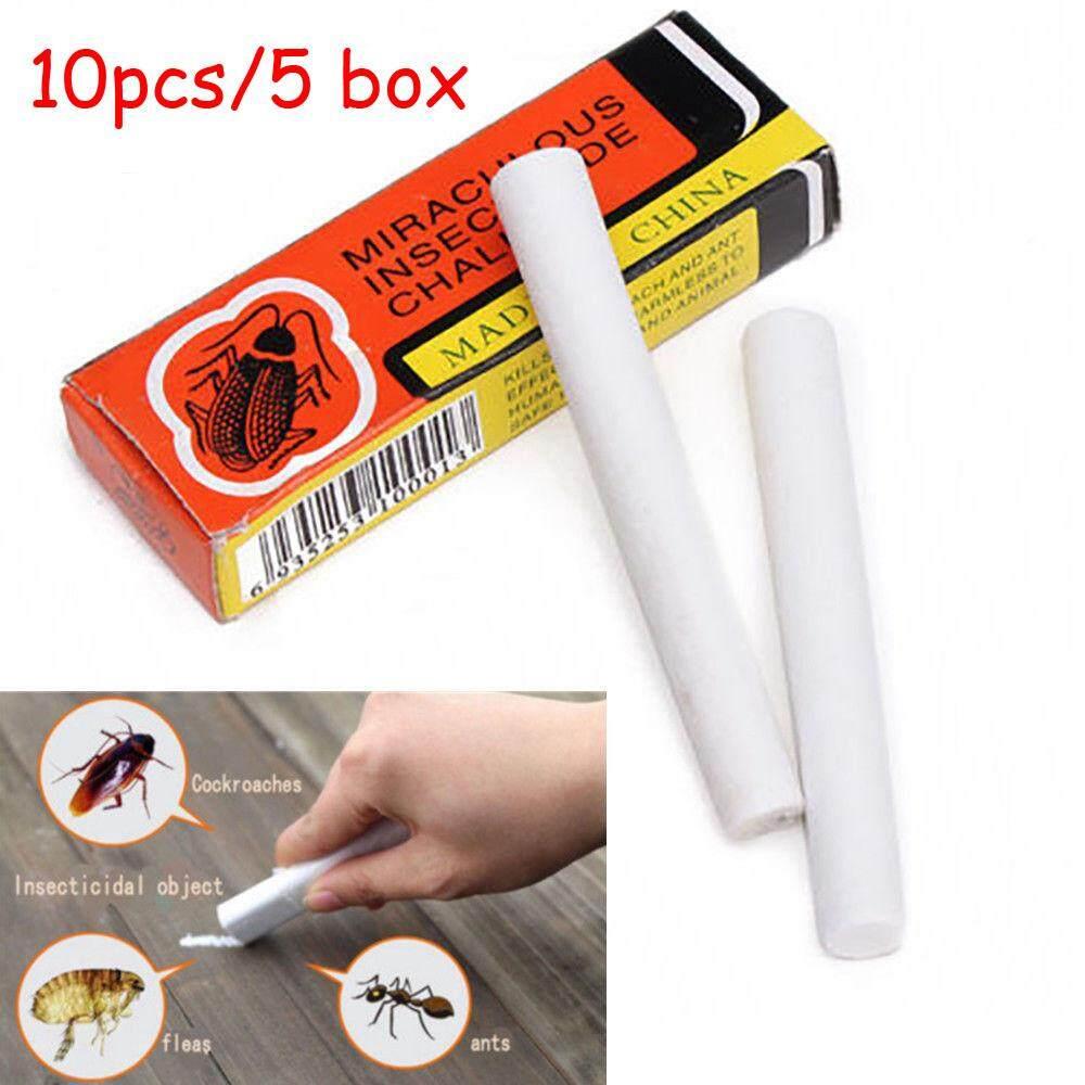 Paytonshop-10Pcs Magic Insect Pen Chalk Tool Kill Cockroach Roaches Ant Lice Flea Bugs