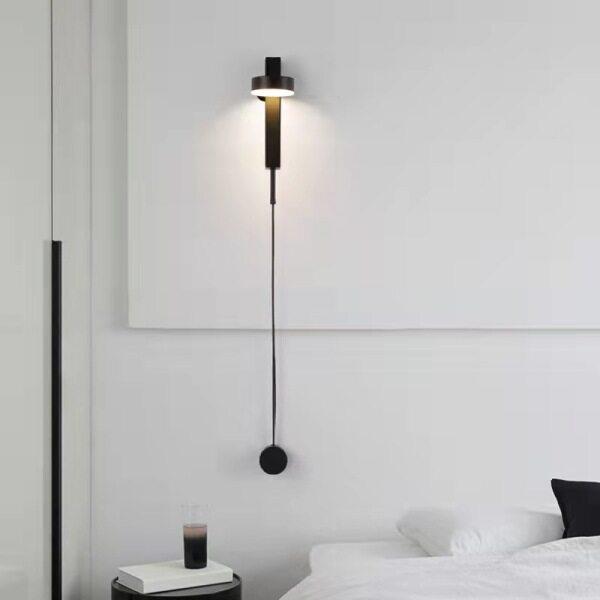 Đèn Treo Tường Cực Kỳ Đơn Giản Đèn Cạnh Giường Phòng Ngủ Đơn Giản Hiện Đại Đèn Led Bắc Âu Thời Trang Sáng Tạo Cá Tính Đèn Tường Lối Đi Phòng Khách