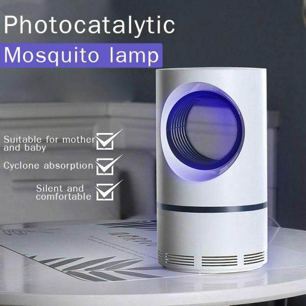 USB Powered Electric Photocatalytic Anti Mosquito Killer Lamp UV Photocatalys Bug Insect Trap Light Pest Control