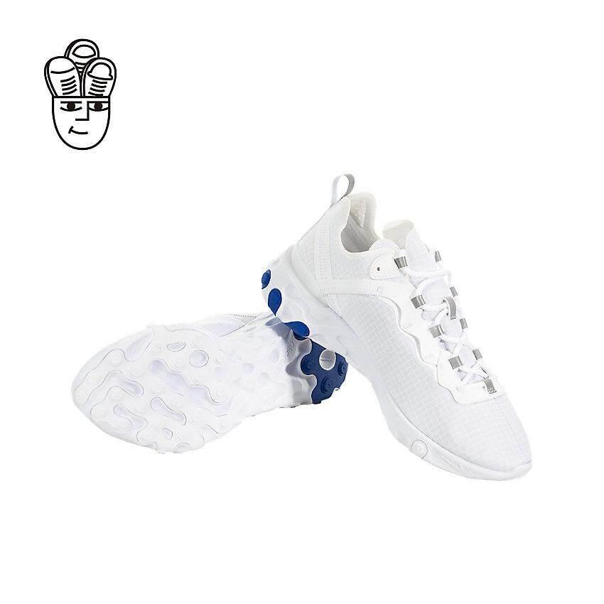 [Khusus] Butik Daftar Nike_React Elemen 55 Se Su 19 Sepatu Lari Pria Bq6167-100-SH