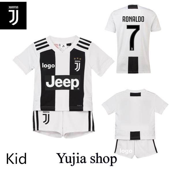 59fa757a90 Children soccer Jersey Grade Ori Juventus New 2018 2019 shirt+shorts(Buy 5