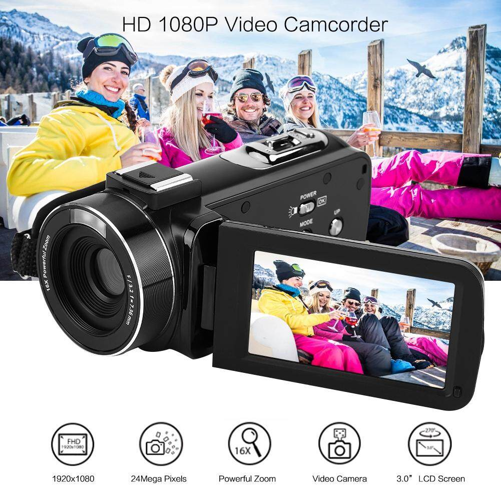 00 Authentic VBESTLIFE Digital Camera Camcorder HD Zoom 16X Screen 1080P Digital 3inch