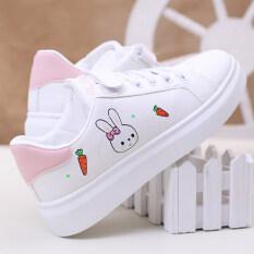Giày Thể Thao Ins Cho Nữ, Giày Thường Ngày Thời Trang Hàn Quốc Dành Cho Phụ Huynh Và Trẻ Em