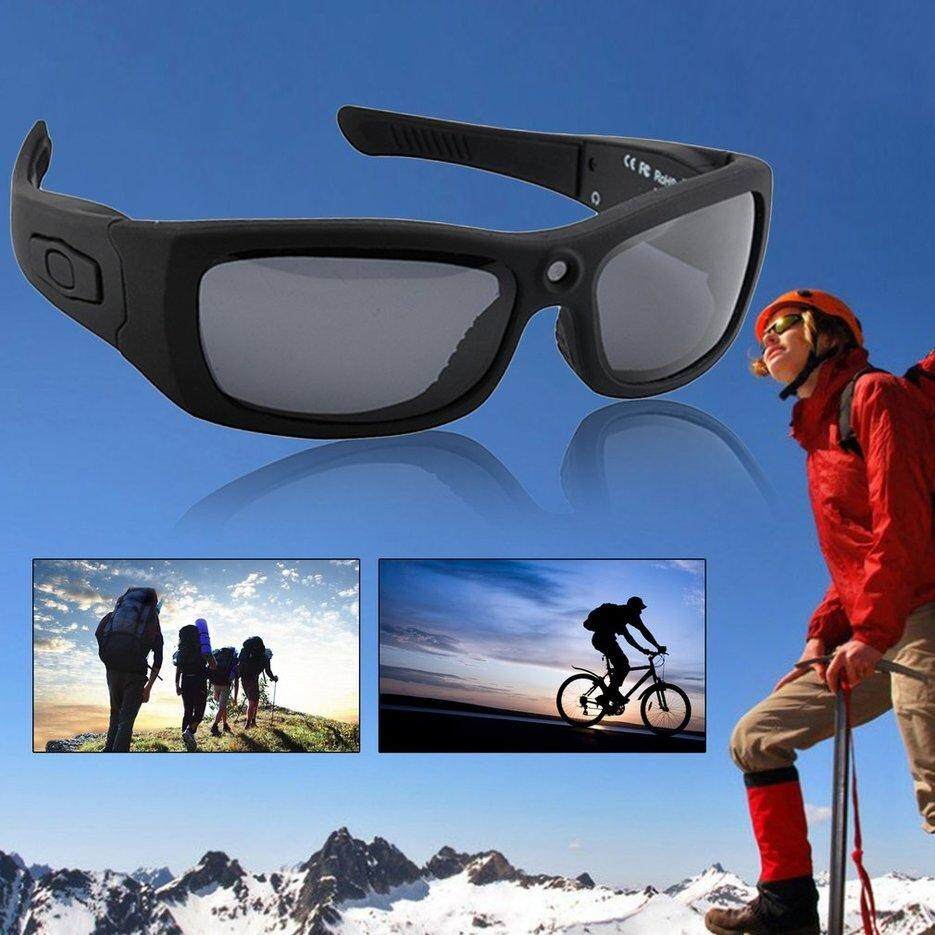 ERA 1080P 2 4GHZ Bluetooth MP3 Sunglasses Video Recording Sunglasses Hidden  Camera