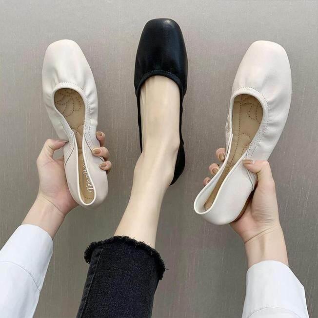 Giày Dáng Thuyền Cổ Vintage Cho Phụ Nữ Dép Cho Phụ Nữ Bán Dép Cho Phụ Nữ Giày Bệt Cho Phụ Nữ Giày Phong Cách Hàn Quốc Giày Đế Bằng Nữ Phụ Nữ Thời Trang Hàn Quốc Sneakers 112408 giá rẻ