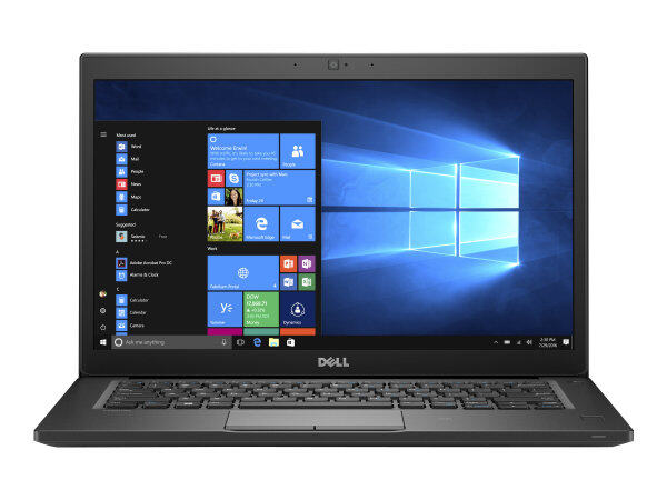 Light Weight - Dell Latitude 7480 - Core i5 6300U / 2.4 GHz / 8GB DDR4 RAM - 256GB  M.2 SSD - 14 inch HD Screen - Intel HD Graphics 520  / REFURBISHED NOTEBOOK / DELL LATITUDE E7480 / ULTRA SLIM LAPTOP Malaysia