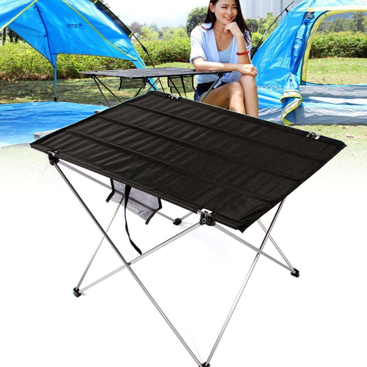 Portable Folding Picnic Barbecue Table Light Weight Foldable Camping Fishing Beach Table