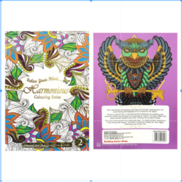 【Mind to Mind】Relax Your Mind Colouring Series - Meant for the Creative Minds (Adult Colouring Book) - Book 2 Malaysia