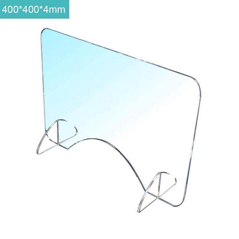 Sneeze Guard Shield Acrylic Countertop Protective Sneeze Guard for Counters Food Screen Transaction