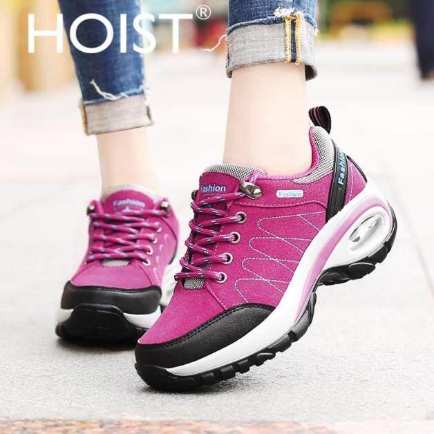 Giày thể thao nữ hoist, Giày Đi Bộ Đường Dài Ngoài Trời, có đệm hơi, Giày đi bộ hàng ngày, 2019 giá rẻ