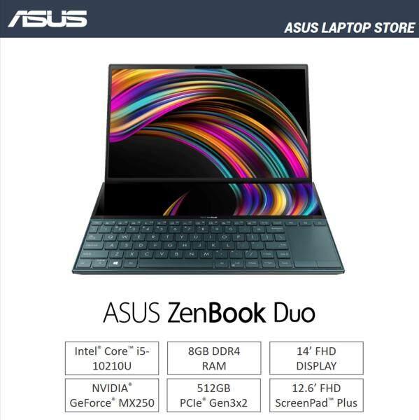 Asus Zenbook Duo UX481 Laptop [Intel / Nvidia MX250 / 512GB] Malaysia