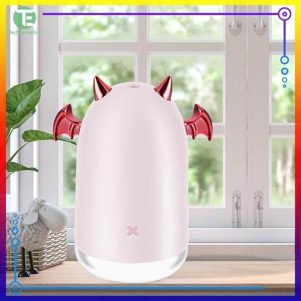 250ml USB Household Office Car Humidifier Desktop Decor Aroma Diffuser Color LED Lamp Fogger Singapore