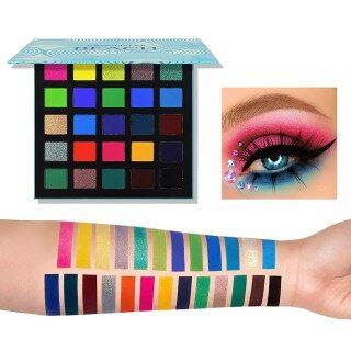 Phấn Mắt Ngọc Trai Mờ 25 Màu, Phấn Mắt Trang Điểm Mịn Lâu Trôi Palet thumbnail