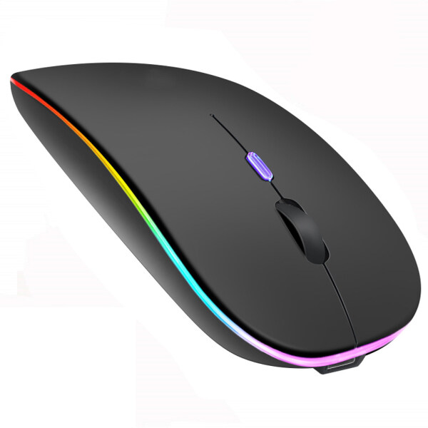 Laptop Rechargeable Optical 2.4G Ergonomic Silent Mouse Wireless Mouse LED Backlit Gaming Mouse