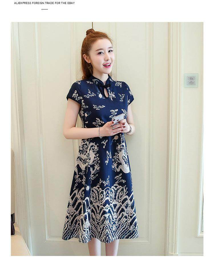 b5fcafa305 Lain Fashion New Style Plus-sized slimming modified Cheongsam