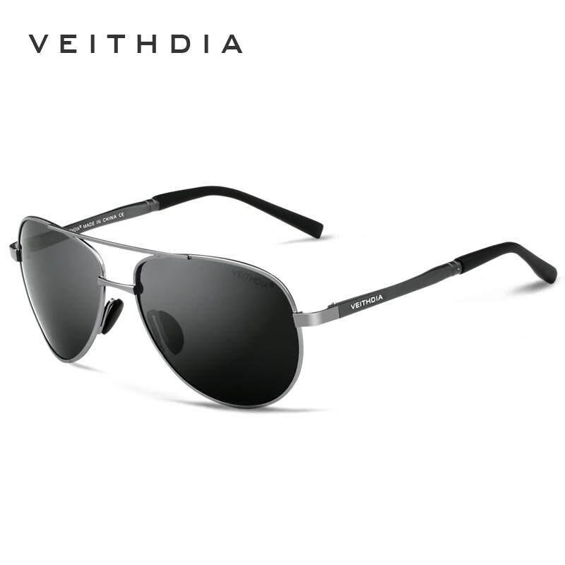 Veithdia Pria Terpolarisasi Kacamata Hitam Mengemudi Malam Desainer Bermerek Pria Lensa Kuning Kacamata Pria Modus Malam