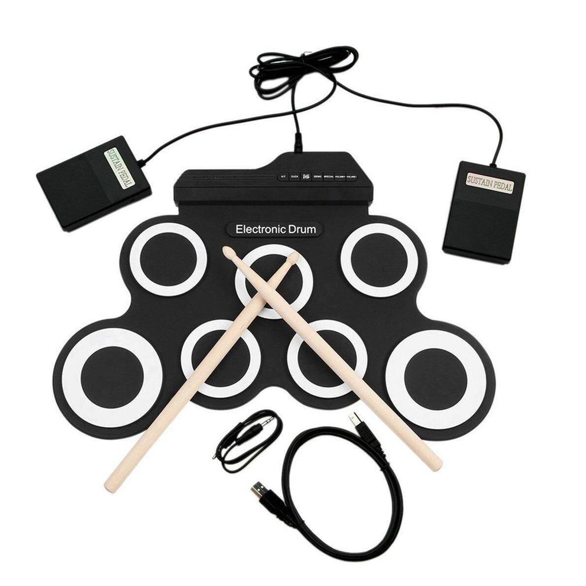 Top Bán USB Trống Điện Tử G3002 Bộ Trống Bộ Trống Nhạc Cụ Gõ Cho Trẻ Em