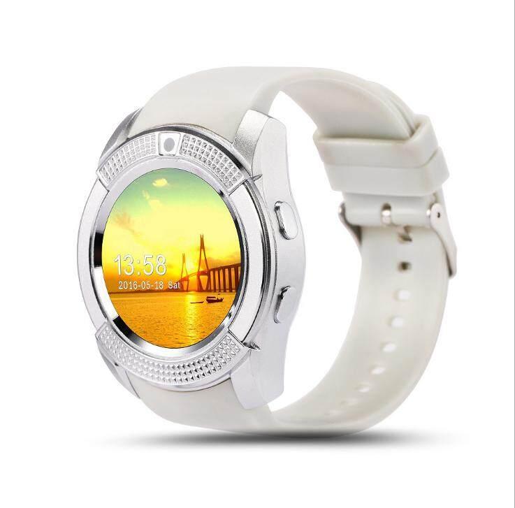 JTWEB V8 Support SIM TF Card Anti Air Smart Watch Bluetooth Smartwatch GSM  Pedometer Health Rate Monitor