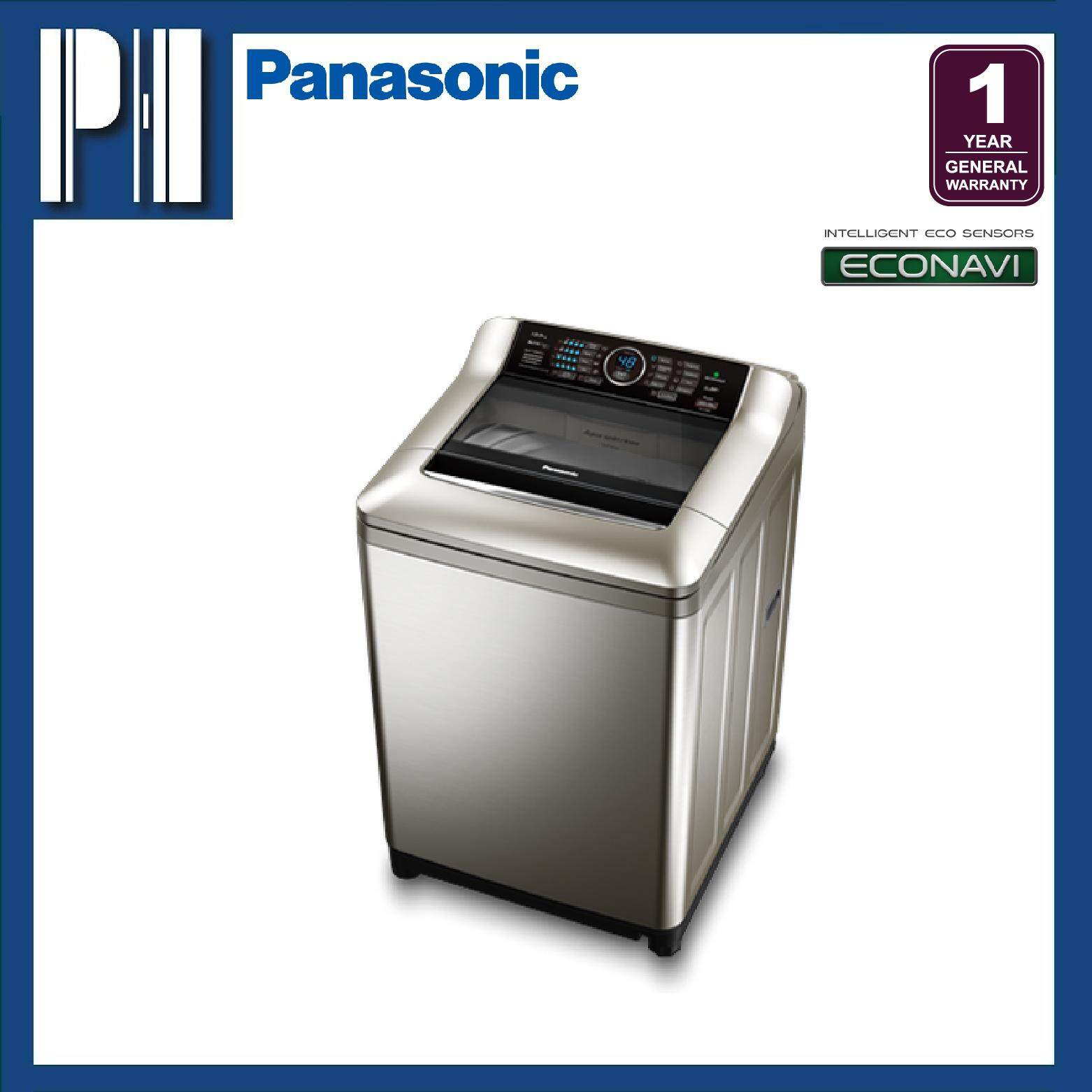 PANASONIC NA-F135X4SRT 13.5KG ActiveFoam System Top Load Washer