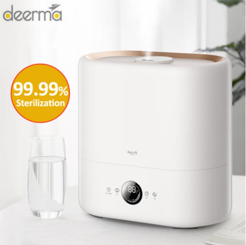 Newest Deerma DEM - ST636 Sterilization Humidifier Cool Mist Aromatherapy Diffuser Built-in UV-C Lamp Sterilization 4.5L Humidifier Singapore