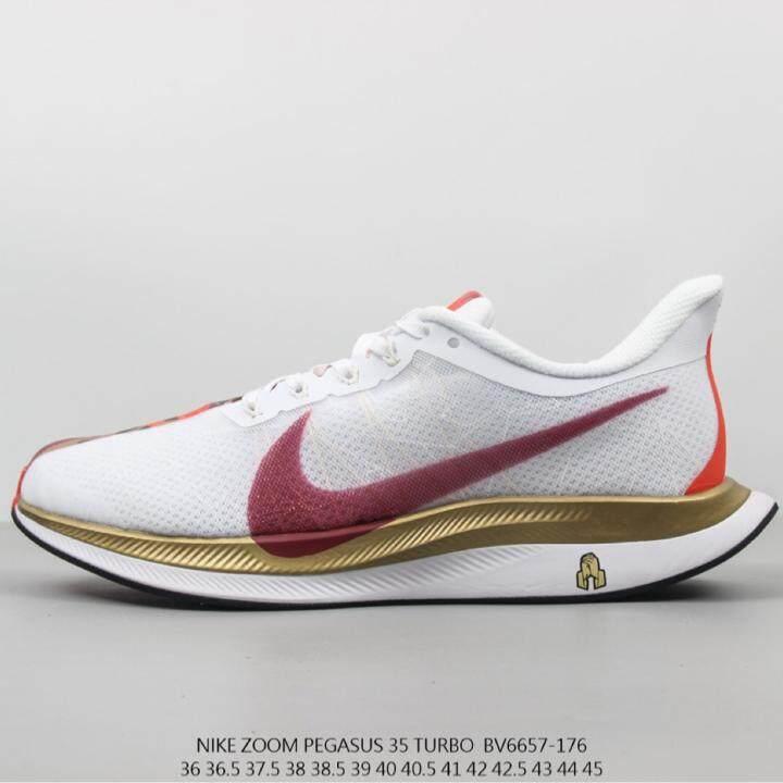 Harga Grosir NIKE_Zoom_Pegasus_35_Turbo_ Mens Menjalankan Sepatu Joging Sepatu Bernapas Nyaman, Sepatu Kasual Anti Slip