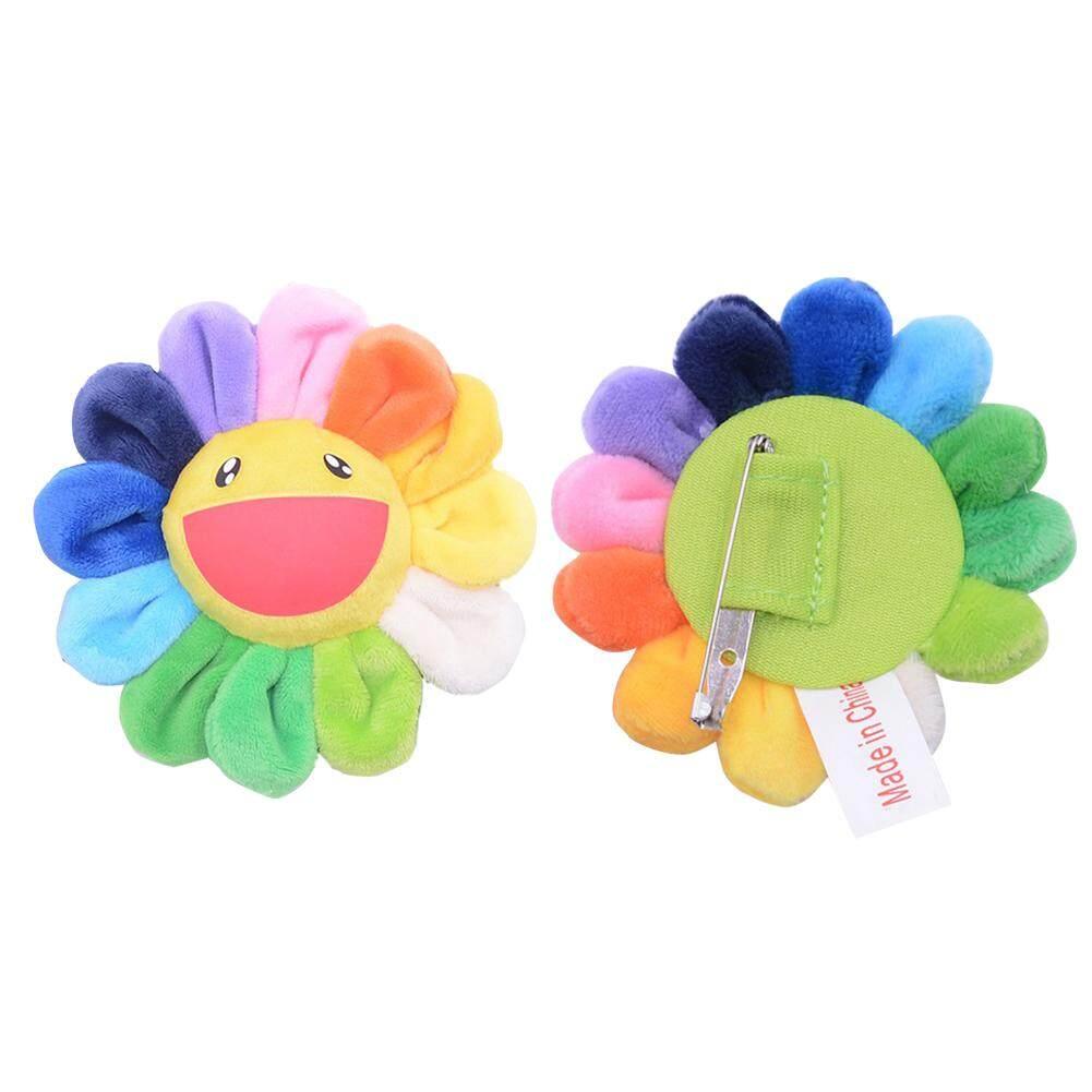 Nhiều màu sắc Hoa Hướng Dương Đeo Chéo thân Họa Tiết Hoạt Hình Dễ Thương Trâm Sang Trọng Mặt Dây Chuyền Thẻ Tiền, cho Trẻ Em Người Lớn