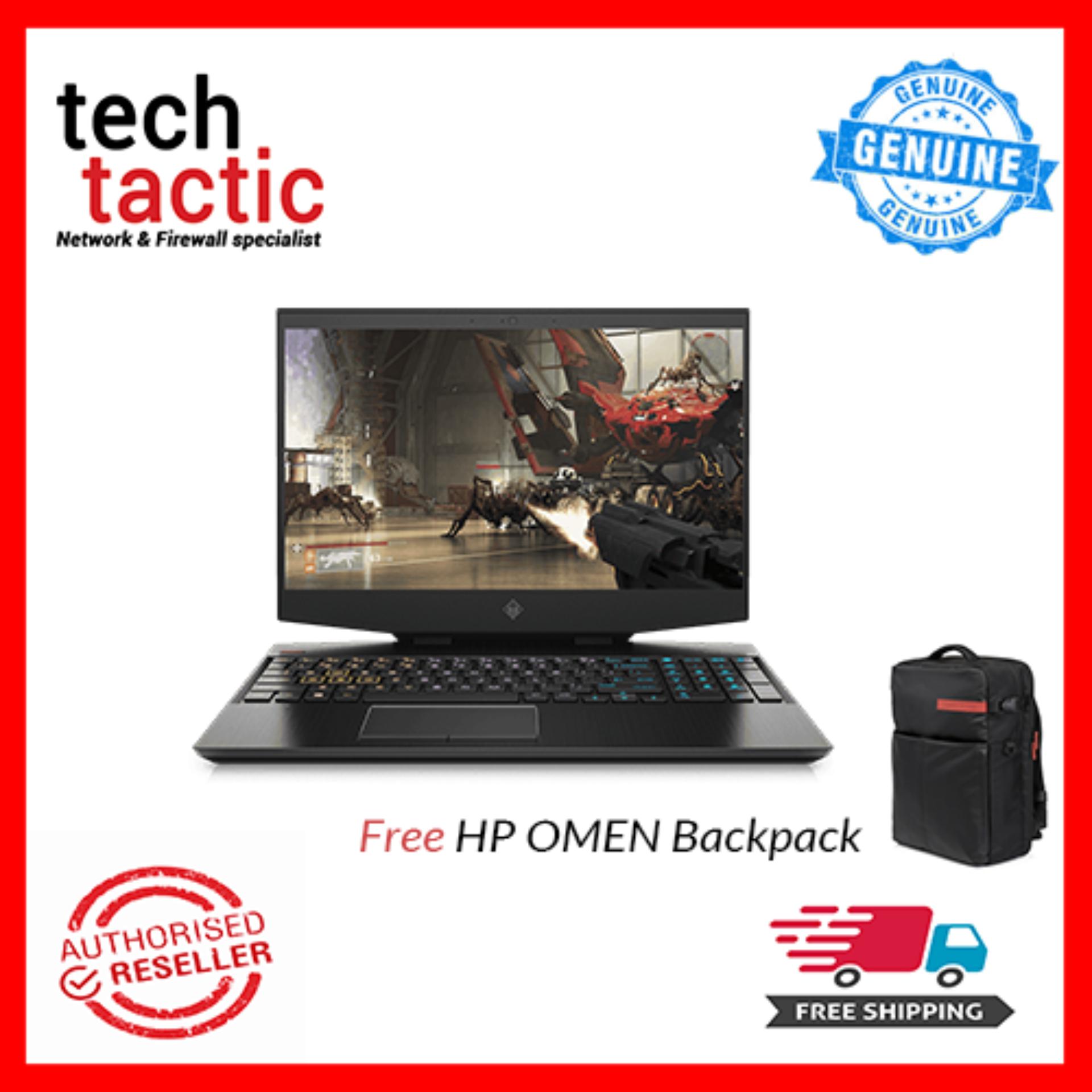 Hewlett-Packard HP OMEN 15-dh0038TX  15.6 Inch FHD Laptop Black  (Intel Core i7-9750H,8GB, 1TB HDD+256GB SSD,NVIDIA GeForce RTX 2060 6GB,Win10) Malaysia