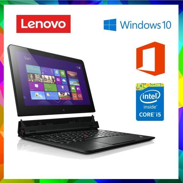 ThinkPad Helix Tablet | Intel i5 3rd Gen | 4GB RAM | 128GB SSD | DUAL BATTERY | 11.6 FULL HD DISPLAY | TOUCH SCREEN | WINDOWS 10 | CONVERTABLE Malaysia