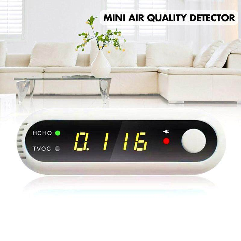 Mini HCHO TVOC Air Quality Detector Formaldehyde Tester Analyzer Home Office Car Singapore