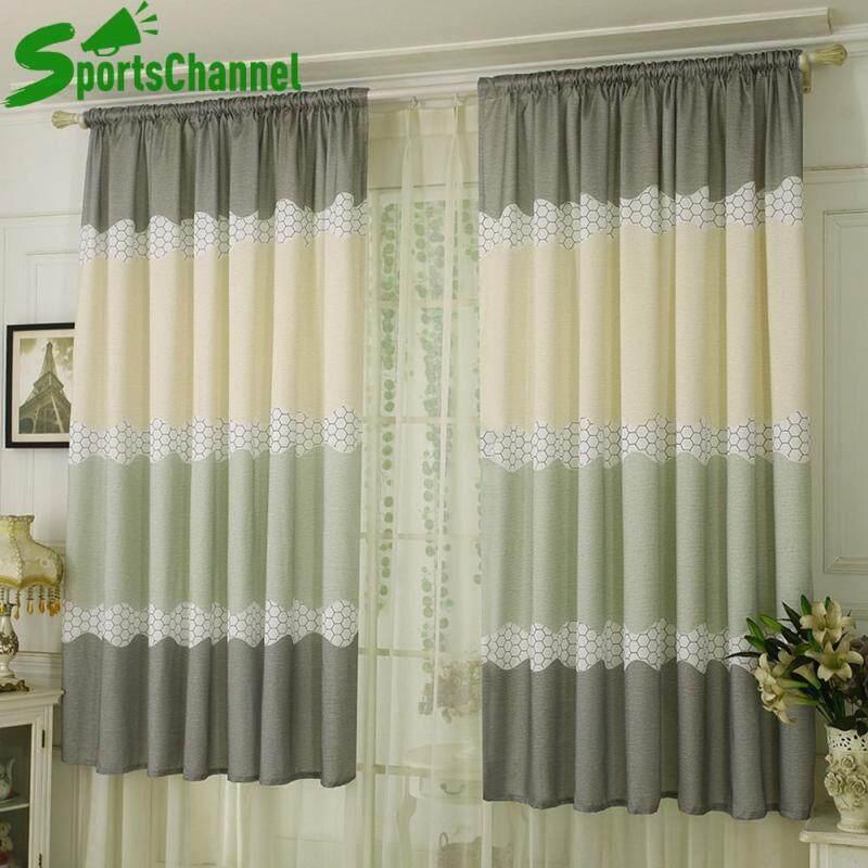 Một chiếc rèm cửa chất liệu vải the kích thước 200*100cm thích hợp cho phòng ngủ/phòng khách (Một mảnh) - INTL