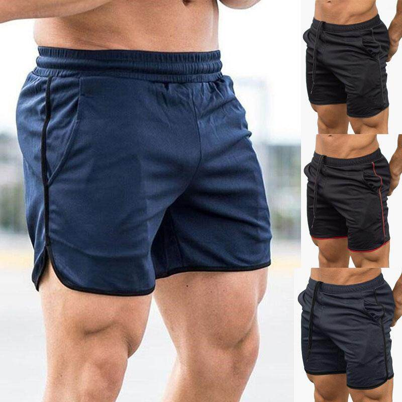 Mens Gym Training Shorts Workout Sports Casual Clothing Fitness Running Short By Happybuyner.