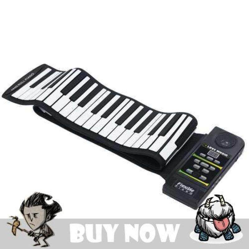 [FreeShipping] Electronic Piano Keyboard Silicon Flexible Roll Up Piano with Loud Speaker Malaysia