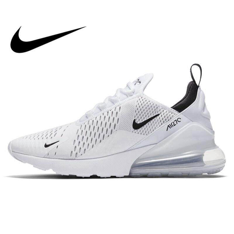 6f27d6f3abf Original NIKE AIR MAX 270 Men s Running Shoes Sneakers 10KM 2018 New  Arrival Sports Shoes for