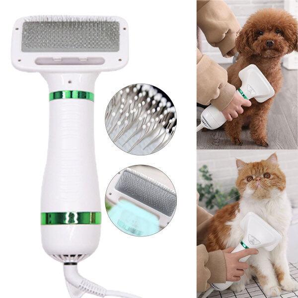 1 Máy Sấy Tóc Thú Cưng Tiện Dụng, Lược Chải Lông Máy Thổi Lông, Tiếng Ồn Thấp Cho Chó Mèo