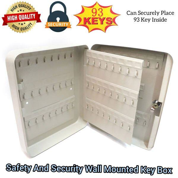 Safety And Security Wall Mounted Metal Steel Key Box For Home Office Factory Use
