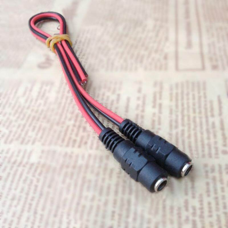 DC12V Connector Cables 5.5x2.1mm Male//Female DC Power Plug Wire 5A 60W 10pcs