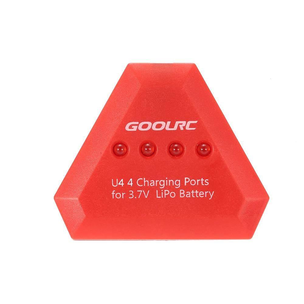 Gool RC 4 In 1 U4 Cepat Pengisian Pintar untuk 3.7 V Li Po Battery Syma X5C Gool RC T37 Jjr /C H43WH H31 H37 Drone