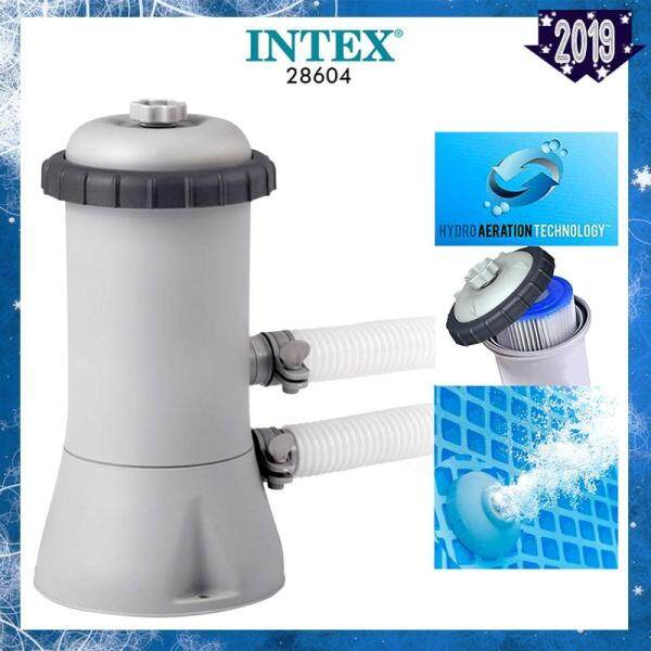 INTEX 28604 (NP94) Krystal Clear Filter Pump 1.7 m³ / hr Hydro Aeration Technology Uses Type A Replaceable Cartridge