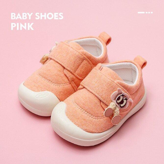 ULKNN Giày Em Bé Bé Gái Bé Trai 2020 Xuân Thu Chống Trượt Vải Bố Hoạt Hình Dễ Thương Giày Trẻ Mới Biết Đi Tập Đi 0-3 Tuổi giá rẻ