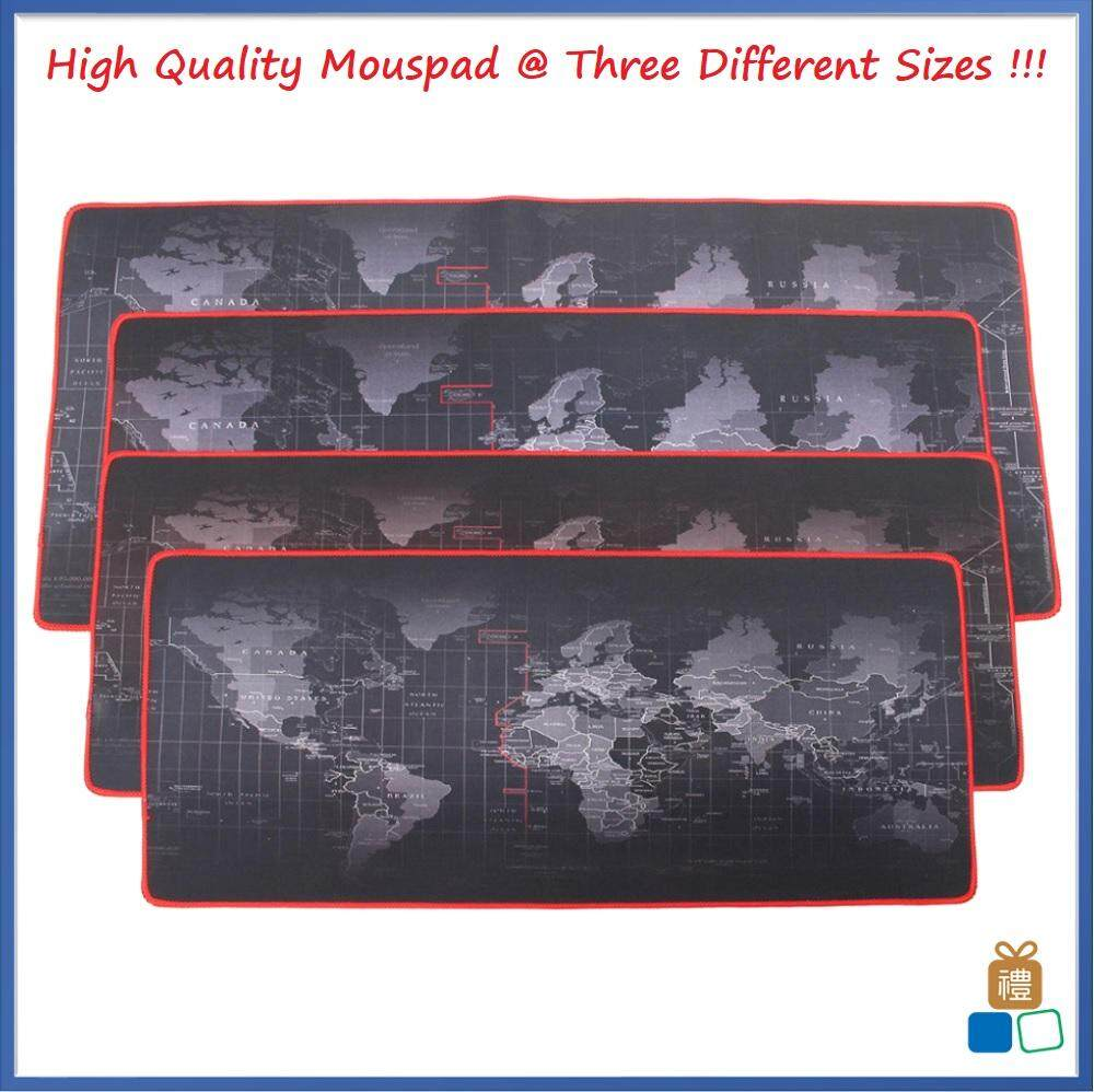 Big Size (70cm*30cm*0.2cm) Pro Gaming World Map Mouse Pad Mousepad (3 Sizes Available) Malaysia