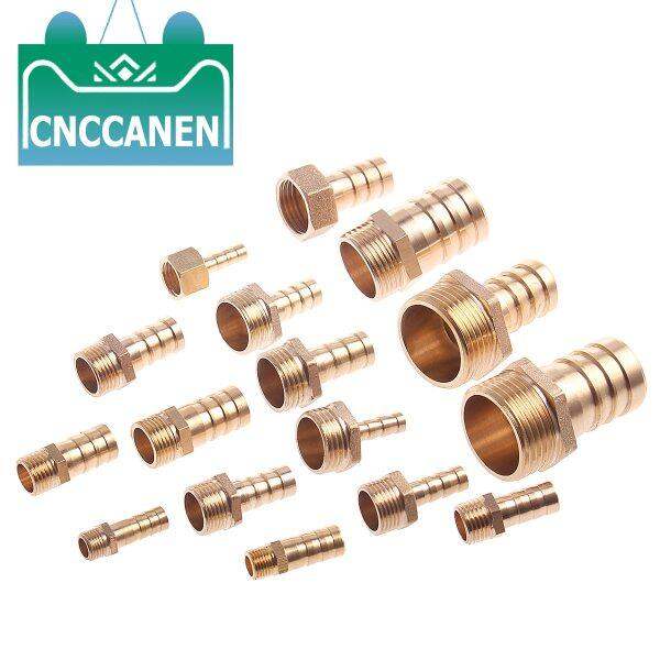 Hose Barb Tail 6/8/10/12/14/16/19/25MM Brass Pipe Fitting 1/8  1/4  3/8  1/2  1  BSP Male Connector Joint Copper Coupler Adapter