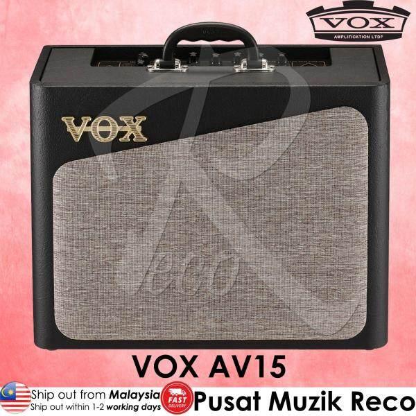 【ClearanceOffer】 Vox AV15 Analog Valve Guitar Modeling Amplifier 15W 1x8 Malaysia
