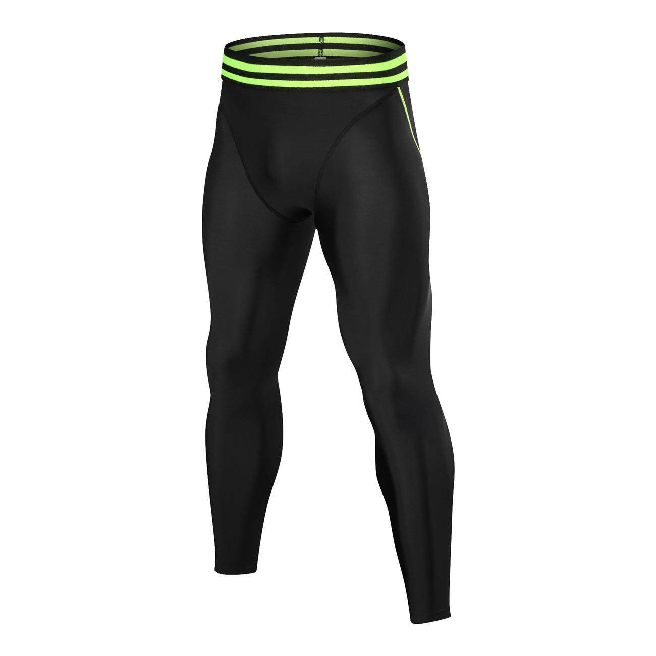 Quick Drying Pants Male Tights Warm Fitness Basic Stretch Pants Training Running Movement Trousers By Wellsunny.
