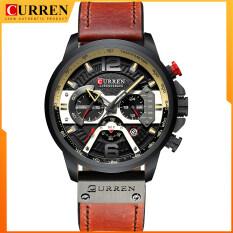 Đồng hồ đeo tay CURREN 8329 cho nam, chống nước 3ATM, động cơ thạch anh, thiết kế đơn giản sang trọng – INTL