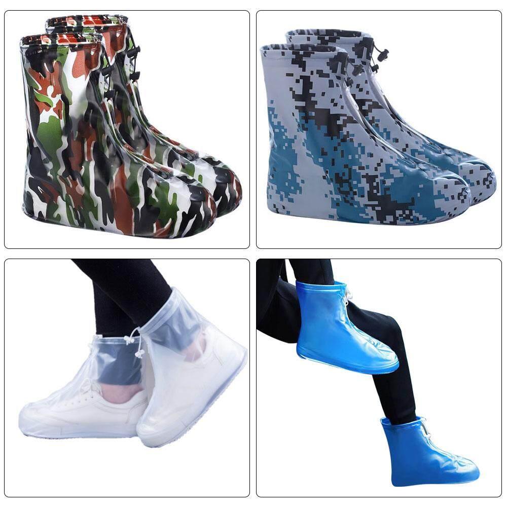 644553a186 [wearesurewin] Reusable Waterproof Shoe Covers Rainwear Rainy Snowing Boot  Boot Protector(Random Color)