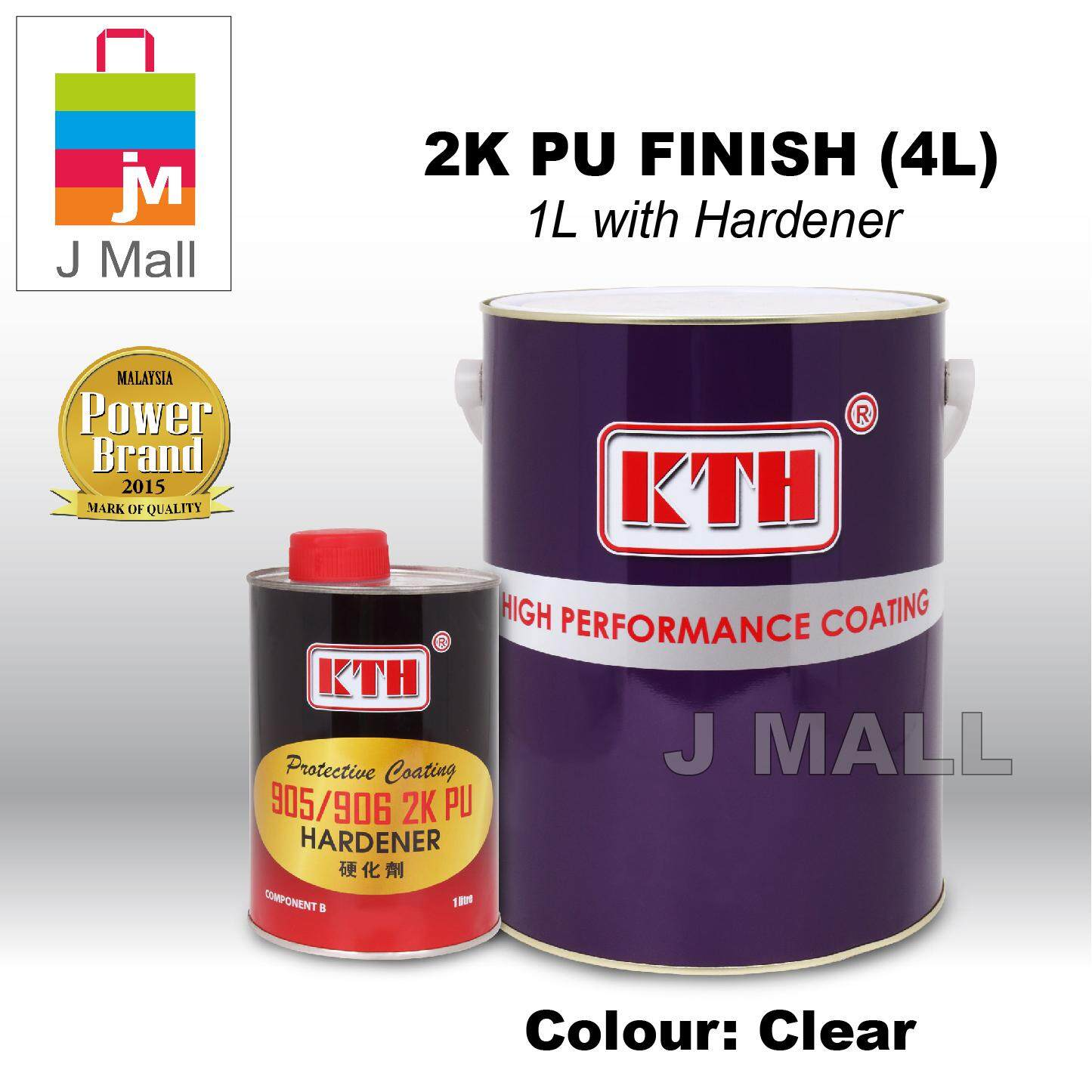 KTH Paint Interior Protective Coating 2K PU Finish Clear - 5L