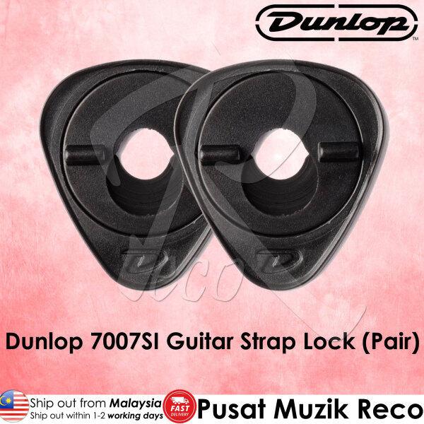 Dunlop 7007SI Ergo Lok Guitar Strap Lock (Pair) Malaysia