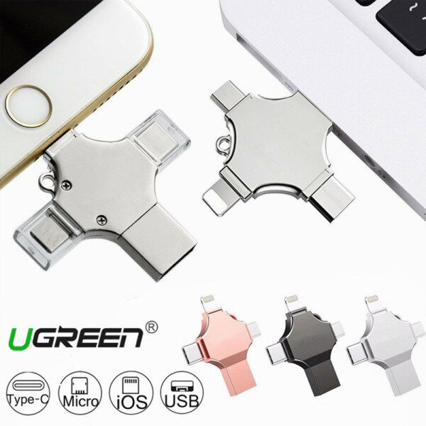 OTG USB Flash Drive 512GB/1TB Micro Usb Pendrive for IPhone12/11/X/8 Plus/8/7/6/5 with Type-C TYPE-C Interface