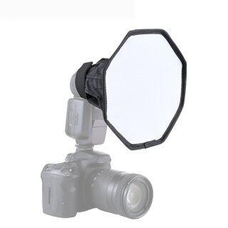 H-MENT Hộp Tản Sáng Thông Dụng Hộp Tản Sáng Đèn Flash Mềm Gấp Gọn Kiểu Oc 20Cm thumbnail