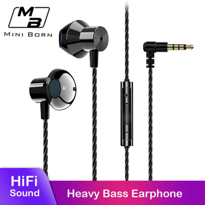 Mini Born In Ear Headphones Earphone Wired Earphone Earbuds HIFI Earphones Stereo Earphones Noise Canceling Headset 90° Elbow Heavy Bass No Ear Pain Headphones with HD Microphone Singapore